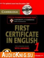Cambridge First Certificate in English 1 for Updated Exam Self-study Pack (with Audio CD)