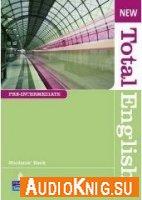 New Total English preintermediate (student's book, workbook's audio, students book's audio with scripts, DVD)