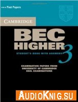 Cambridge BEC Higher 3 Student's book with answers and audio