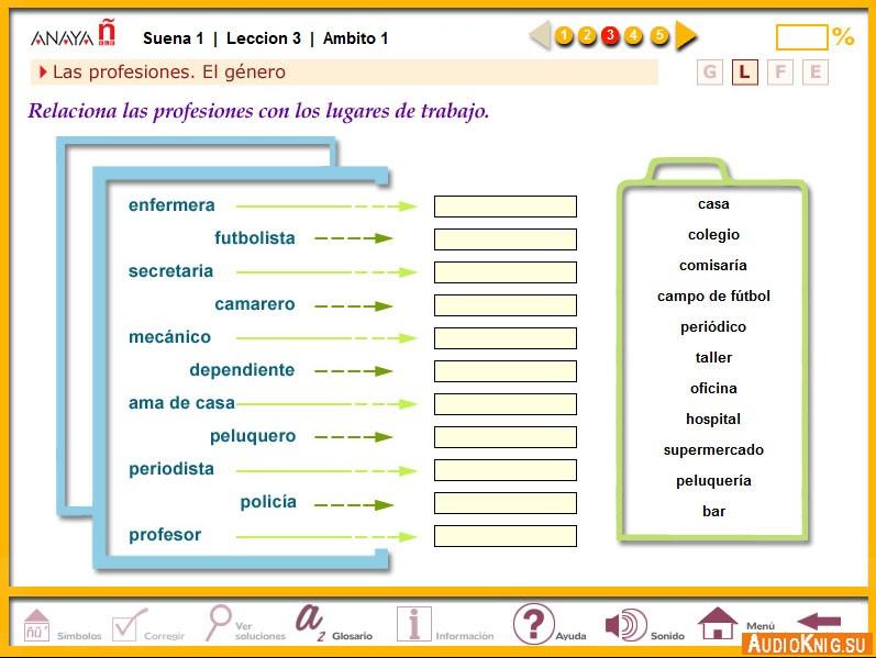 Четырехуровневый курс коммуникативного испанского языка